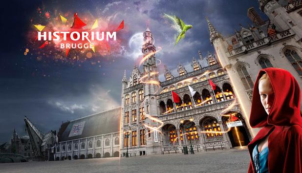 Win een duoticket voor Historium Brugge