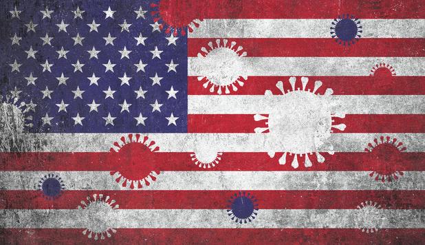 Comment le coronavirus a tué le mythe américain
