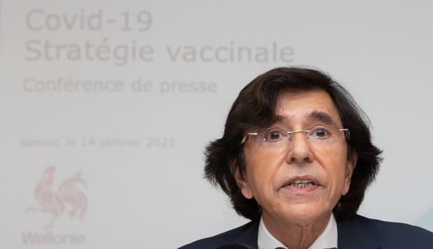 Stratégie wallonne : 32 centres de vaccination ouverts début février