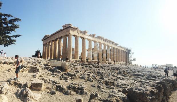 Te heet voor toeristen: Akropolis Athene sluit tijdens namiddagen