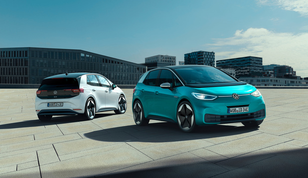 La Volkswagen ID.3st est visible à Kortenberg