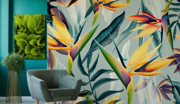 Produisez de la décoration d'intérieur personnalisée avec les imprimantes numériques EFI™.