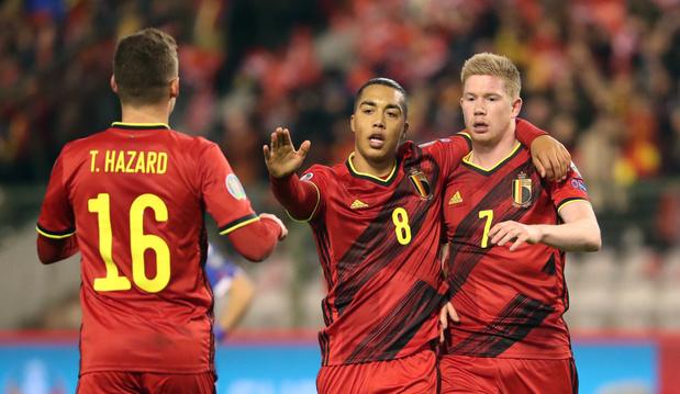 La Belgique termine l'année numéro 1 au classement FIFA