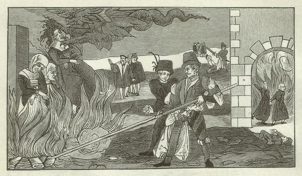 Brûlée en 1590, une sorcière réhabilitée