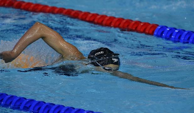 Valentine Dumont scherpt Belgisch record 400 meter vrije slag nogmaals aan