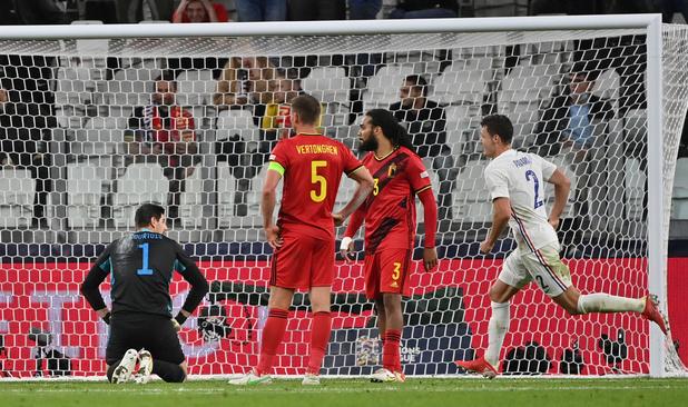 Nations League: la Belgique renversée par la France après avoir mené 2-0 à la pause