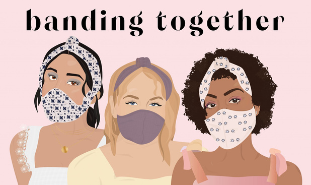 Model en Unicef-ambassadeur Halima Aden ontwerpt mondmaskers voor vrouwen met hijab