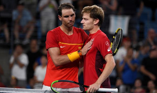 """Goffin après son exploit face à Nadal : """"J'étais prêt pour cette bagarre"""""""