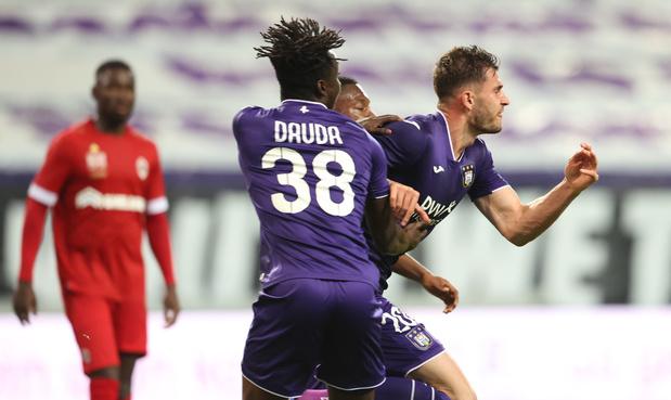 Anderlecht accroche l'Antwerp dans les dernières secondes