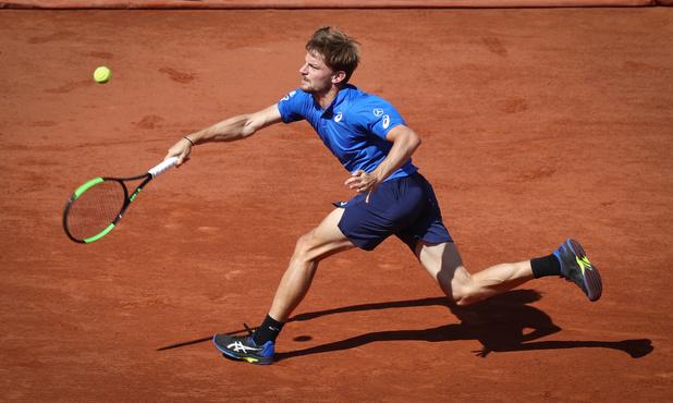 David Goffin éliminé en quatre sets par Rafael Nadal au 3e tour de Roland-Garros