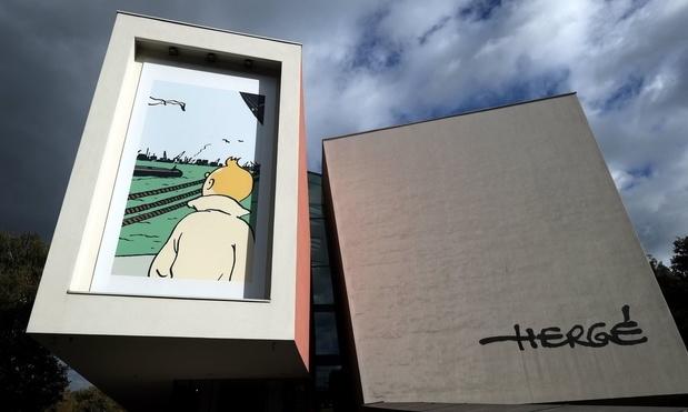 """Une expo et une version colorisée pour """"Tintin en Amérique"""""""