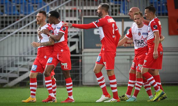Coupe de Belgique: Mouscron et Deinze avancent au tour suivant