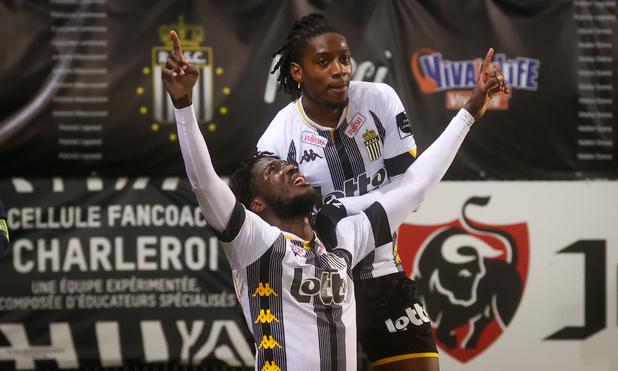 Charleroi prive le Club Bruges d'une 11e victoire d'affilée