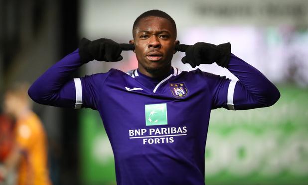 Francis Amuzu prolonge à Anderlecht