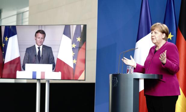 La France et l'Allemagne proposent un plan de relance de 500 milliards d'euros
