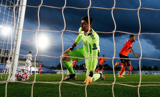 Ligue des champions: le Real Madrid rate son entrée face au Shakhar Donetsk (2-3)