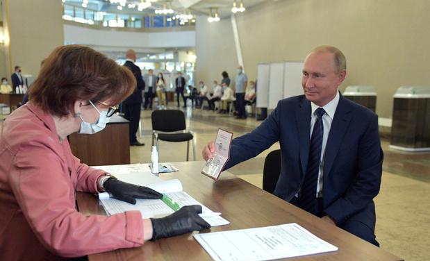 La Russie adopte l'extension de l'ère Poutine