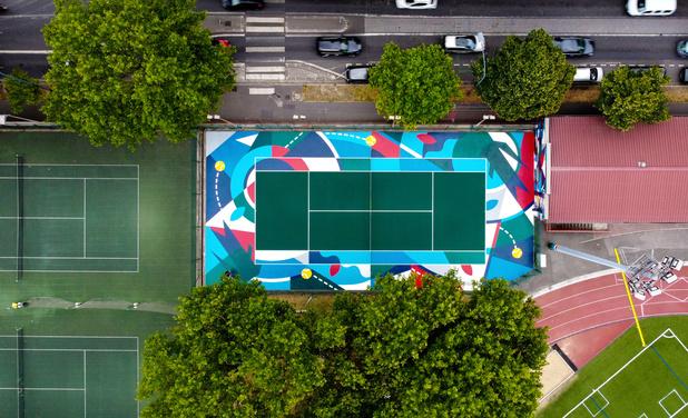 Quand l'art urbain investit l'univers du tennis