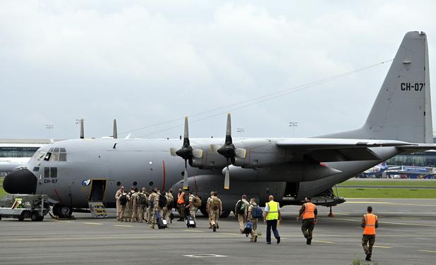"""L'opération d'évacuation des Belges d'Afghanistan en cours: des """"circonstances très difficiles"""""""