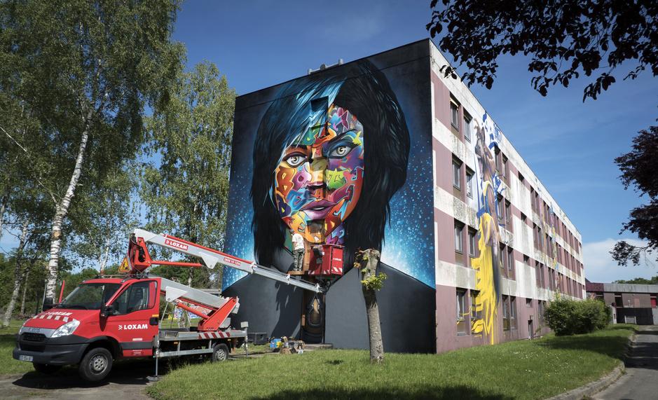 Een 'stad' gewijd aan street art