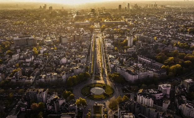 Bruxelles, l'une des villes les moins frappées par le changement climatique