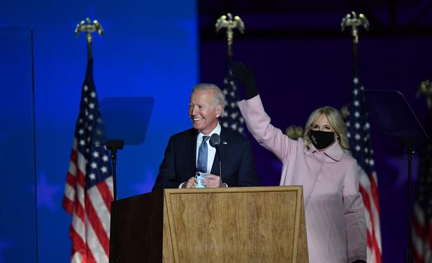 """Joe Biden s'exprime sur les premiers résultats: """"Nous sommes en bonne voie pour remporter ces élections"""""""