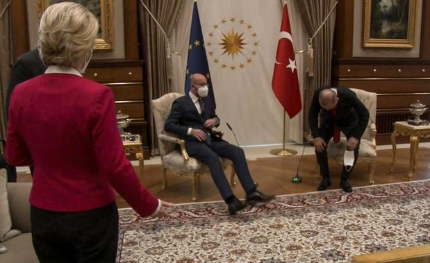 Charles Michel, la goujaterie, la rivalité intra-européenne et la Turquie