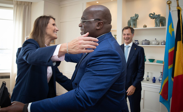De Croo: 'Nieuwe dynamiek tussen België en Congo'