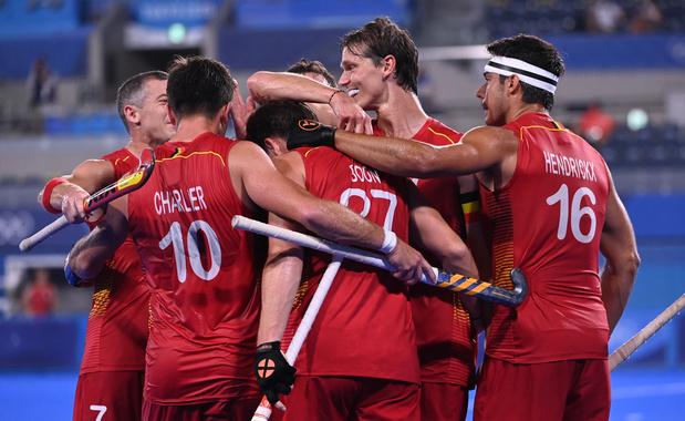 Les Red Lions éliminent l'Espagne et filent en demi-finale olympique