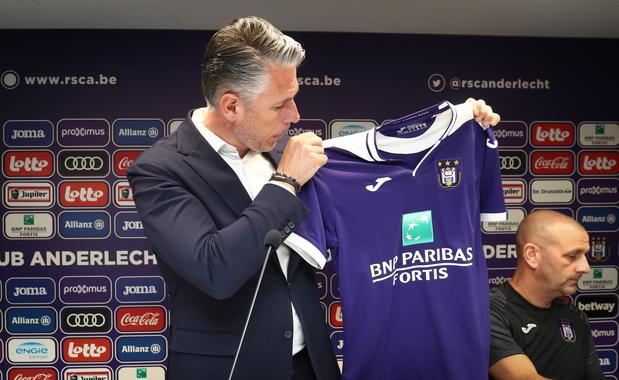 Rendre son identité à Anderlecht, le credo de Michael Verschueren