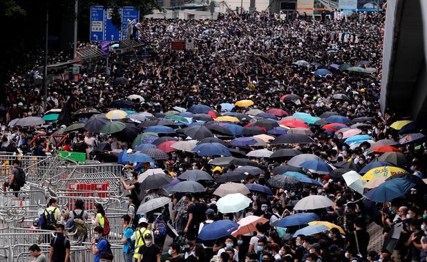 Hong Kong maakt zich op voor nieuwe massabetoging