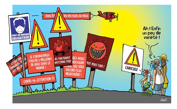 Les compléments de Vadot: la canicule, l'accident industriel de Beyrouth et la victoire d'Alexandre Loukachenko