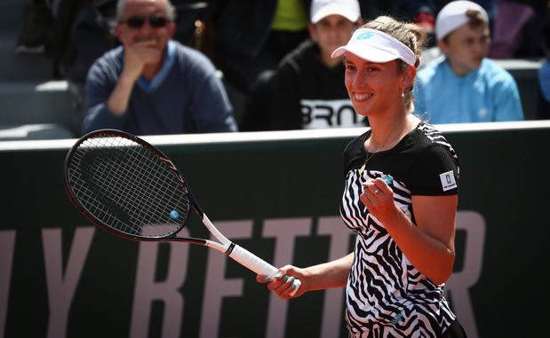 Elise Mertens domine la Française Parry et file au 3e tour