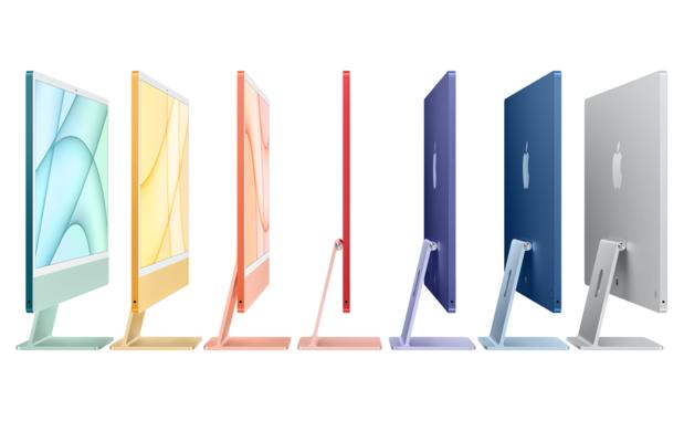 Au bout de vingt ans, Apple sort de nouveau des iMac colorés