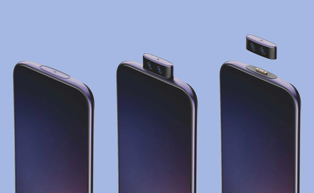 Vivo toont concepttelefoon met afneembare camera