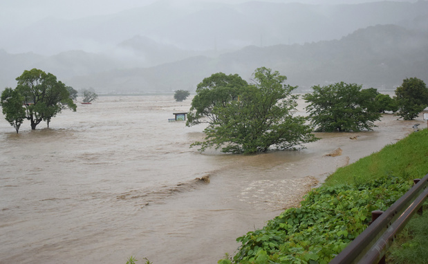 Japon: 14 décès présumés dans une maison de retraite inondée