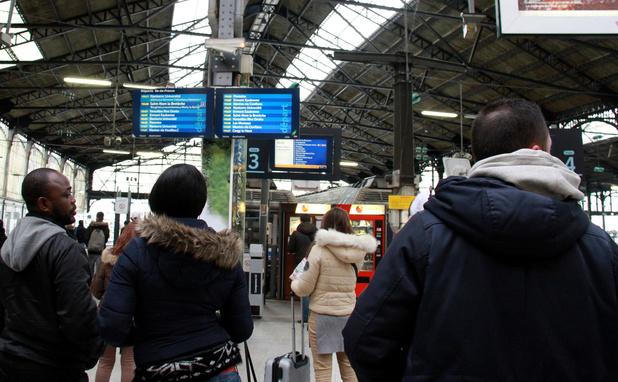 Circulation très perturbée à la SNCF au premier jour des vacances scolaires en France