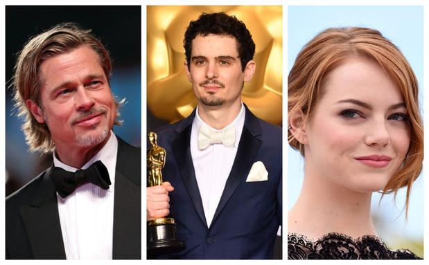 Emma Stone et Brad Pitt au casting du nouveau film de Damien Chazelle?