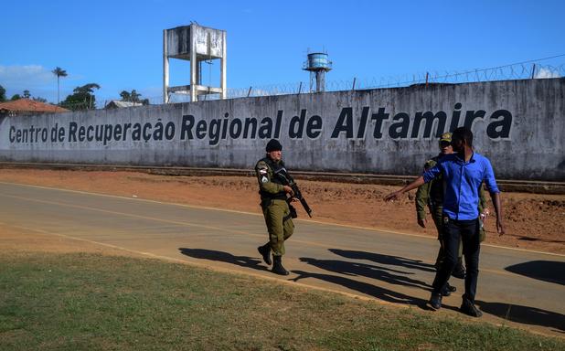 Nouveau bain de sang dans une prison au Brésil: 57 morts