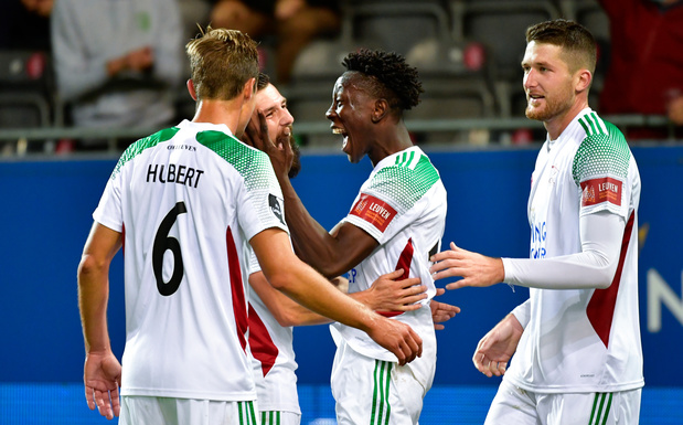 Le Cercle s'impose à Eupen, OHL bat Zulte Waregem