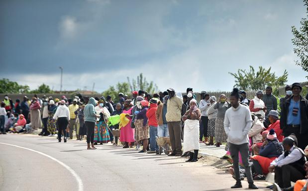 Plus de 5.000 cas infectés en Afrique du Sud