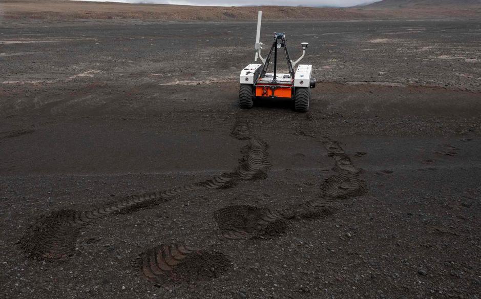La Nasa se prépare pour Mars dans un champ de lave en Islande (en images)