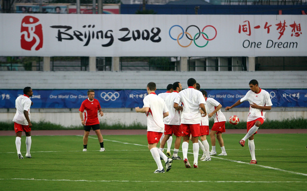 Quiz du jour : l'équipe belge aux JO 2008