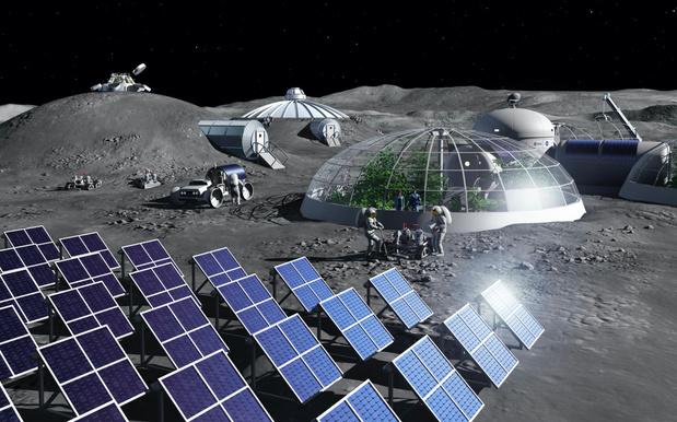 ESA opent labo waar maanstof wordt omgezet in zuurstof
