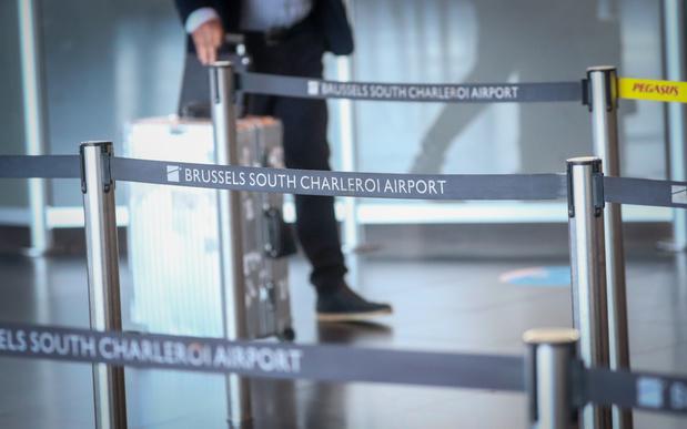 70 procent minder reizigers op luchthaven Charleroi