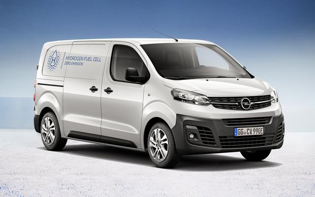 Opel commercialise un Vivaro à hydrogène
