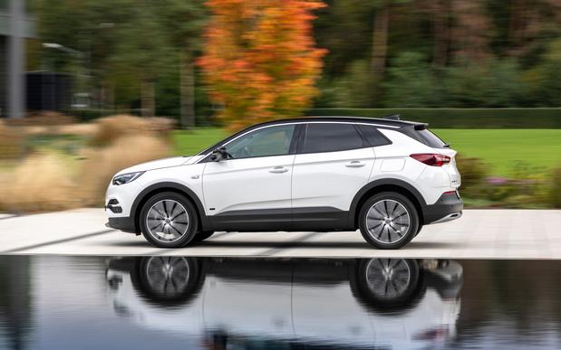 Plug-inhybride Opel Grandland ook met voorwielaandrijving