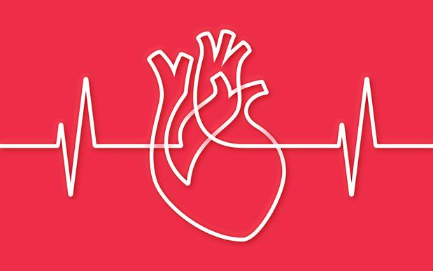Ik test mijn hartritme