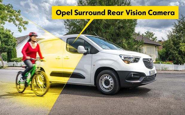Surround Rear Vision voor de Opel Combo