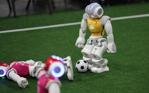 Nederland opnieuw wereldkampioen robotvoetbal